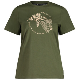 Maloja ZirbeM. SS T-Shirt Women moss